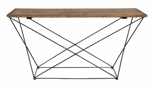 Russell White Fir Console Table