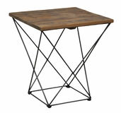 Russell White Fir End Table