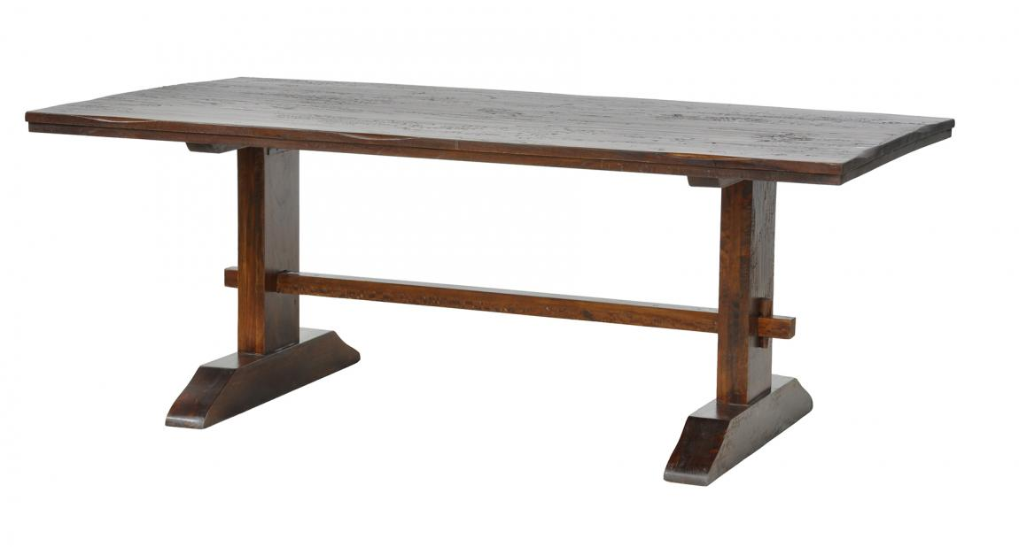 Rustic Elegance Scottsdale Trestle Dining Table