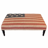 West Wing Long Ottoman