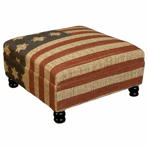 West Wing Ottoman