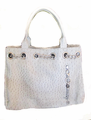 """Urban Moxy """"Nicole"""" Silver Concealed Carry Tote"""