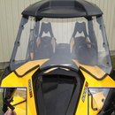 D.O.T. Approved Hard Coated Full Front Windshield w| Optional Wiper - Can Am Maverick