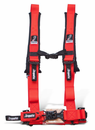 Dragonfire H-Style 2 Inch 4 Point Harness - Red