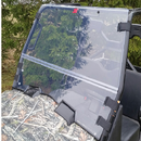 Fold Down Front Windshield - Kymco UXV 450