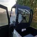 Full Cab Enclosure w| Hinged Doors and Soft Top - Kymco UXV 450