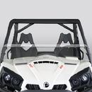 Hard-Coated Half Front Windshield by National Cycle - Can Am Commander