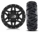 KMC XD XS128 Machete Wheels w| EFX Moto MTC Tires