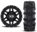KMC XD XS128 Machete Wheels w| EFX MotoBoss Tires