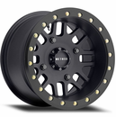 Method 406 Matte Black Beadlock Wheel Set - 12 | 14 | 15 Inch