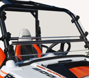 Spike Hard Coated Two Piece Front Windshield - Polaris RZR 570 | S 570 | 800 | S 800 | XP 900