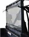 Spike Hard Coated Rear Windshield - 2013-17 Full Size Polaris Ranger w| Pro-Fit Cage