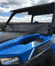 Spike Tinted Half Front Windshield - Polaris General 1000