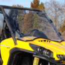 Super ATV Hard Coated Full Front Windshield - Can Am Commander | Maverick