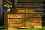 Alder 8 Drawer Chest