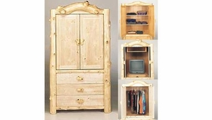 Armoire Entertainment Center w/Pocket Doors