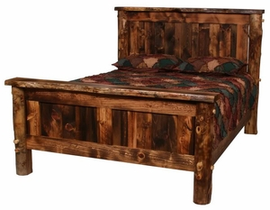 Homestead Wilderness Log Bed