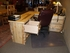 Rustic Executive Desk with Return