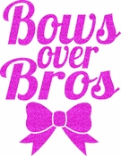Bows over bros transfers