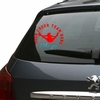 Car Decal Cheer Jump