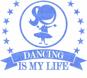 Dance is life girl transfer