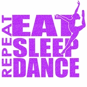 Eat sleep dance transfer