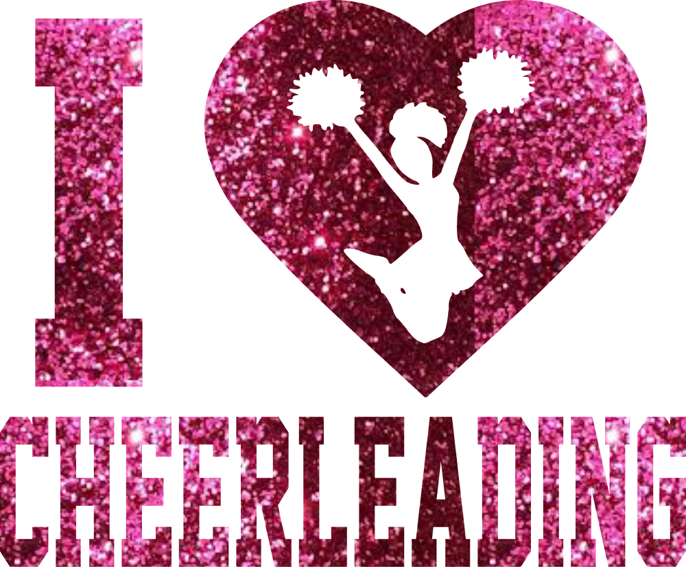 cheerleading I heart cheerleading transfer