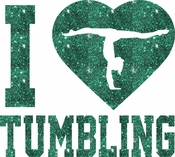 I Love Tumbling Splits  transfer