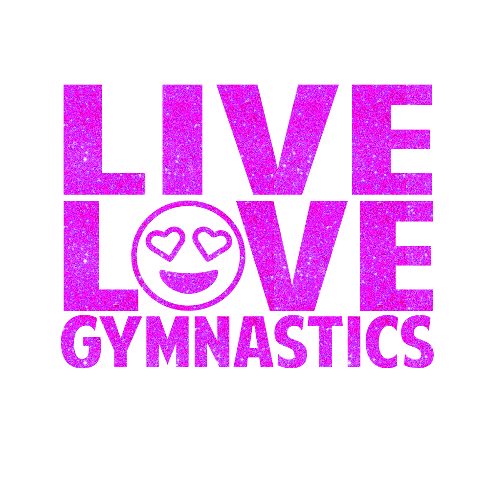 I Love Gymnastics - Free Coloring Pages