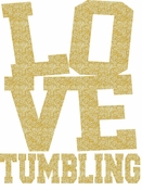 LOVE Tumbling transfer