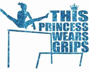 Princess Wears Grips transfer