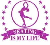 Skating is my life transfer