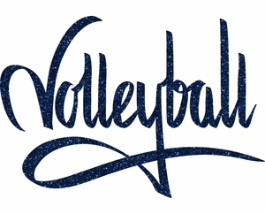 Volleyball graffiti transfer