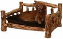 Aspen Log Dogbed