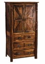 Barnwood 3 Drawer Armoire