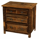Barnwood 3 Drawer Chest