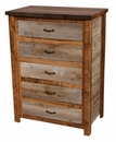 Barnwood 5-Drawer Chest