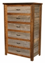 Barnwood 6-Drawer Chest