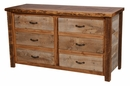 Barnwood 6-Drawer Dresser