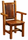 Artisan Barnwood Dining Arm Chair