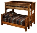 Barnwood Twin over Full Bunk Bed
