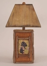 Bear Cubs Scene Table Lamp