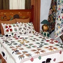 Bears Paw Quilt Set