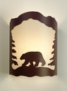 Black Bear Wall Sconce