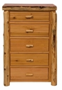Cedar 5 Drawer Chest