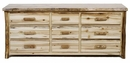 Colorado 9-Drawer Dresser