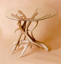 Deer Antler End Table Base