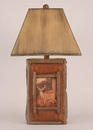 Deer Scene Table Lamp