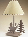 Deer/Tree Table Lamp