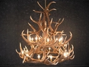 Elk Eighteen Antler Chandelier
